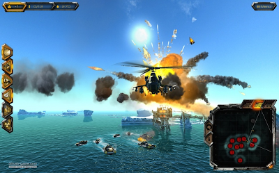 Oil Rush real-time naval strategy game for Linux