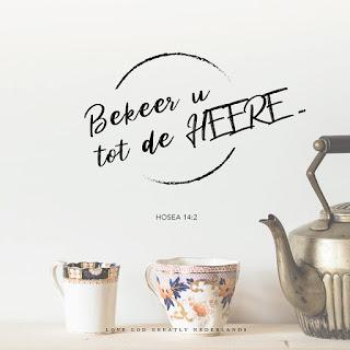 Leef je geloof, Hillie Snoeijer: Hose 14: 2-4