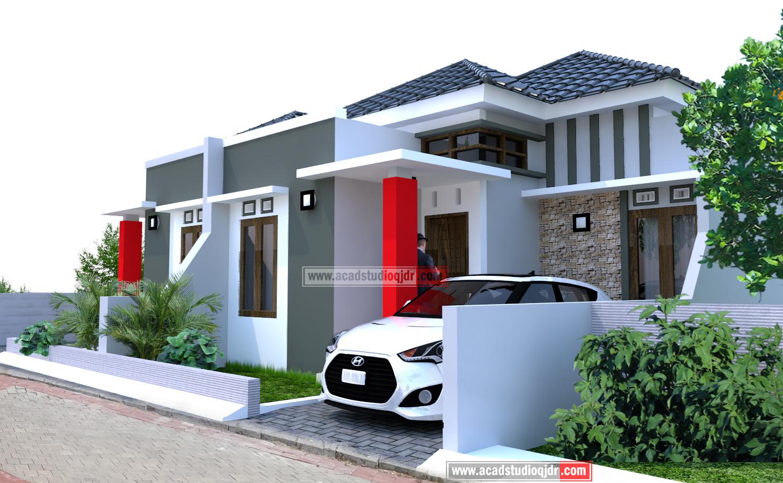Desain Rumah Tipe 45  Rumah KeSatu  Jasa Desain Rumah