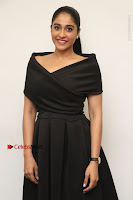 Actress Regina Candra Pos in Beautiful Black Short Dress at Saravanan Irukka Bayamaen Tamil Movie Press Meet  0019.jpg