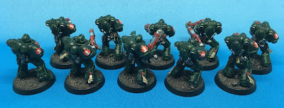 Dark Angels Hellblasters - back