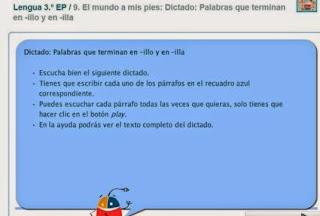 http://www.primaria.librosvivos.net/Dictado__Palabras_que_terminan_en_-illo_y_en_-illa.html