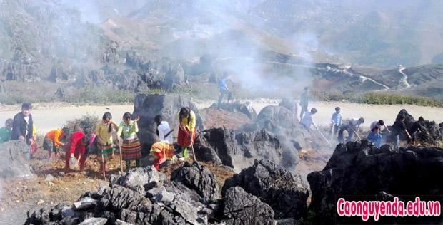 Huyện Mèo Vạc Tích cực chuẩn bị Lễ hội Chợ tình Khâu Vai