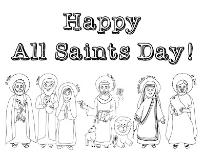 saint coloring pages # 19