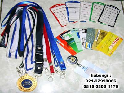 Produksi tali id card, sablon tali id card, Jual Tali Lanyard di Tangerang