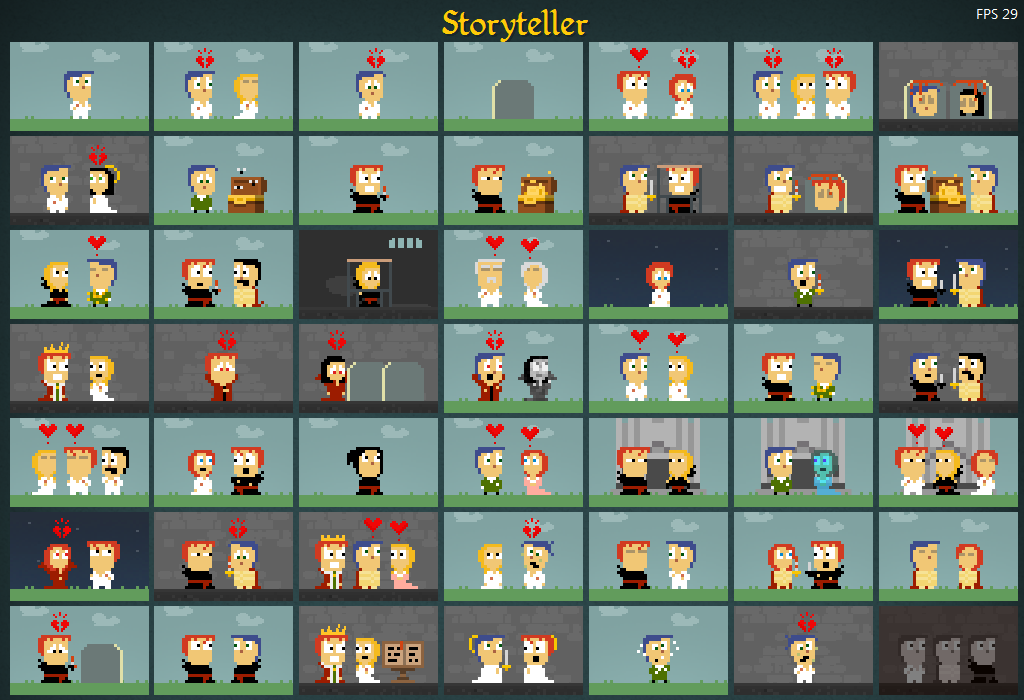 Storyteller: Designing Level Selectors for Puzzle Games