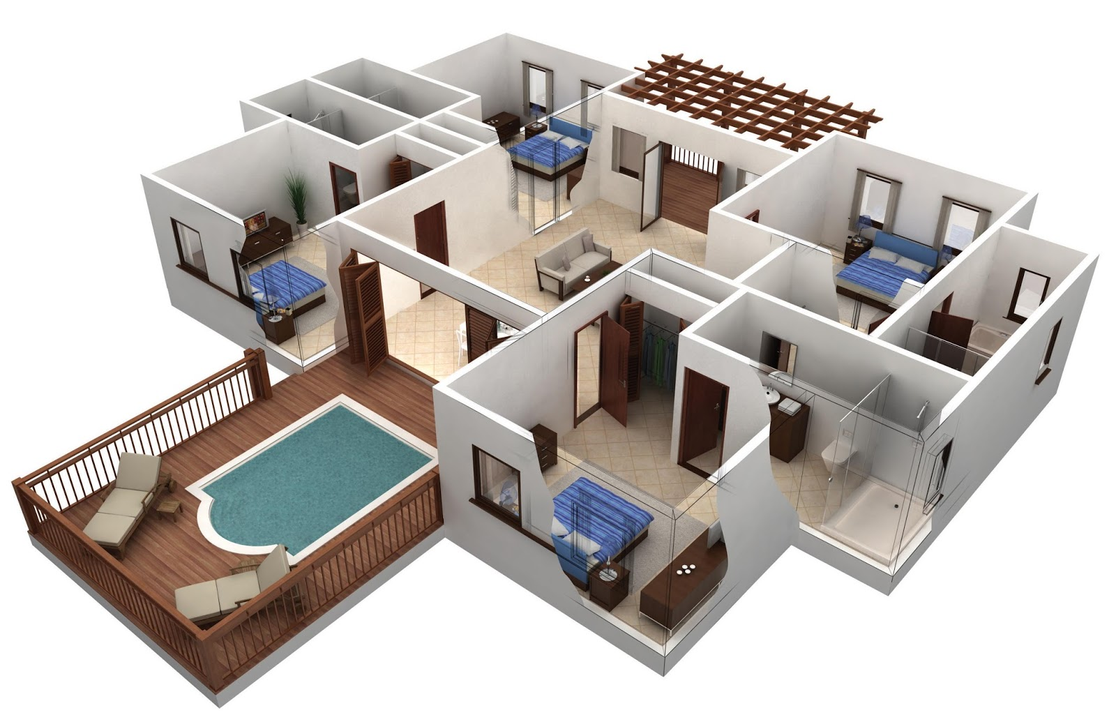 some factors you should consider when choosing and creating a outdoor swimming pool with chairs for floor plans