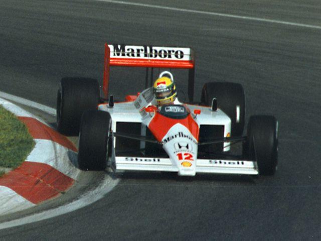 Ayrton Senna Mclaren Mp Formula Car