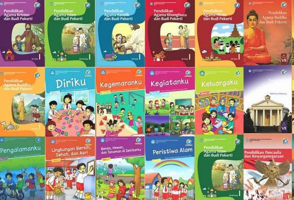 Buku Tematik Kelas 1 Kurikulum 2013 Edisi Revisi 2016