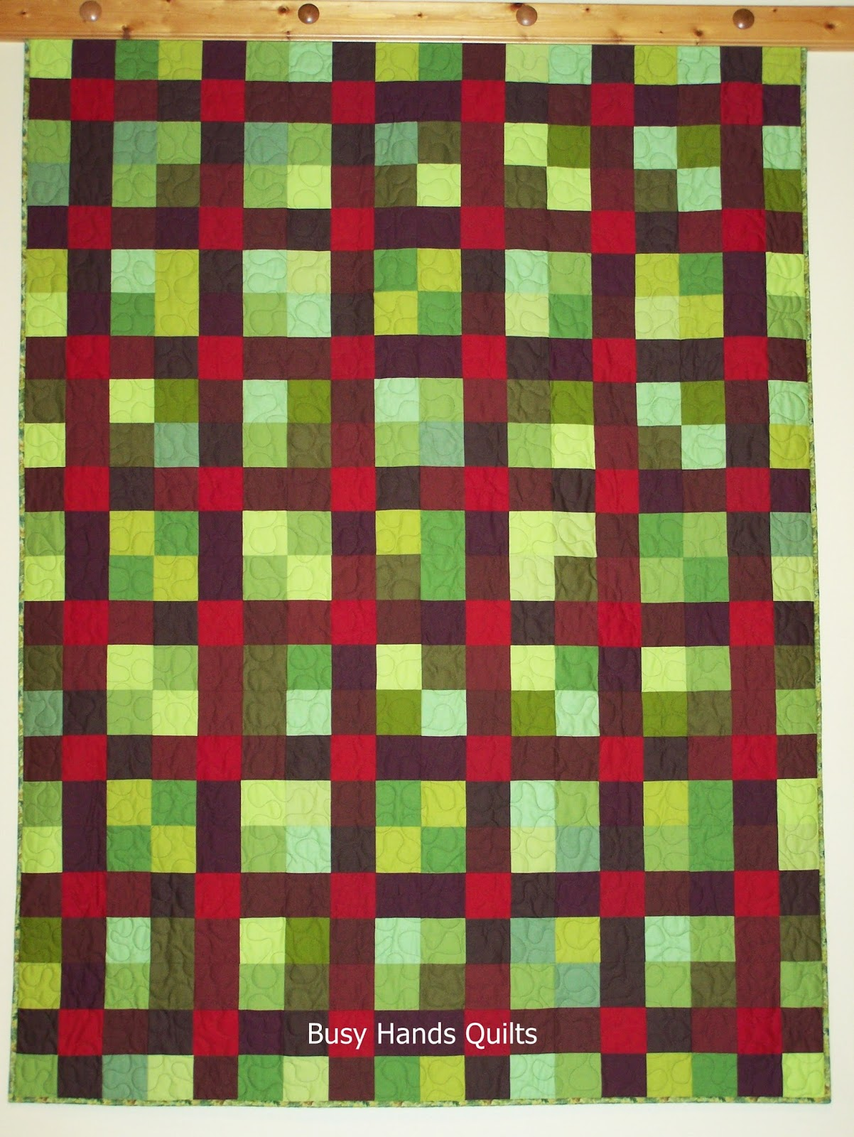 Square Quilt Patterns Free : Busy Hands Quilts: 9-Patch Plaid {a Nifty Nines QAL Tutorial!}