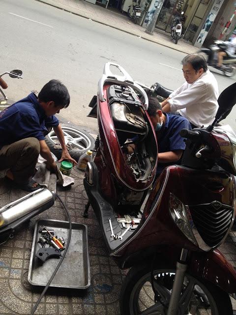 Sửa xe tay ga Honda Sh uy tín chuyên nghiệp tại TPHCM