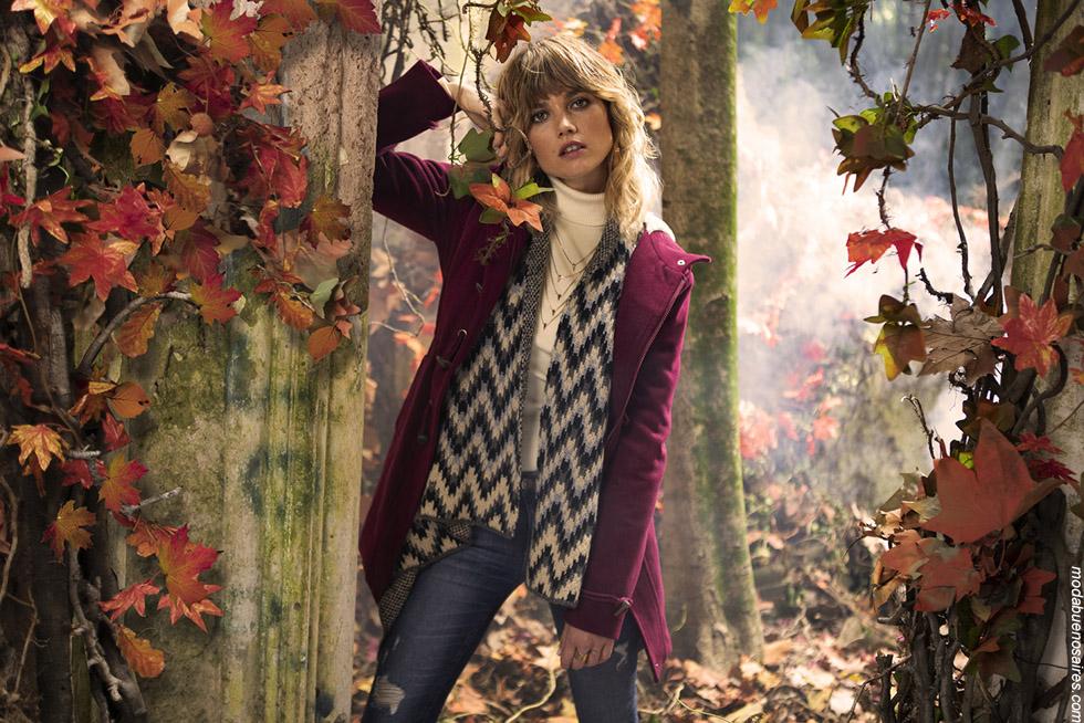 Moda mujer otoño invierno 2019 camperas. Abrigos de moda. Tendencias de moda. #modaurbana