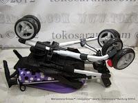 Kereta Bayi LightWeight CocoLatte CL08 iSport - Polkadot Purple