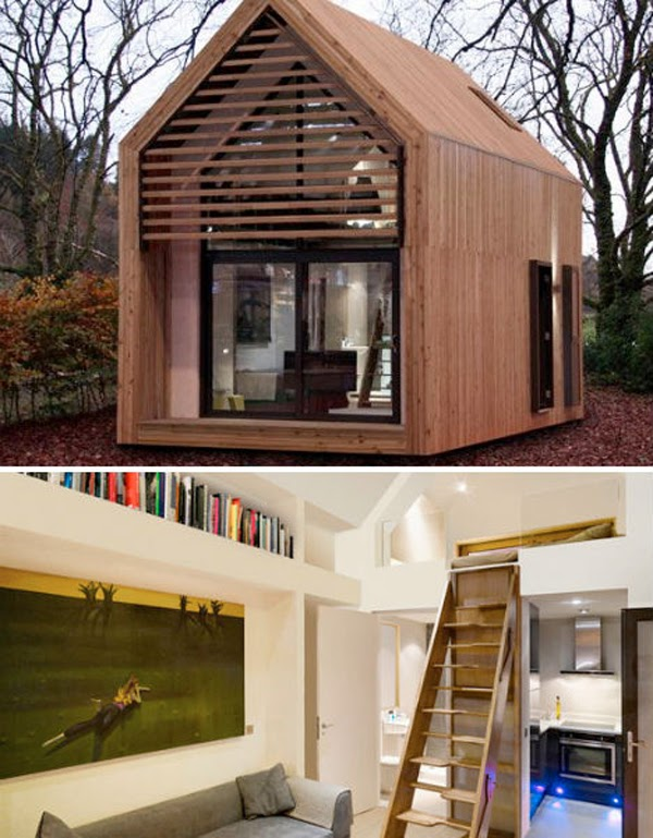 Modern Tiny House Interior: Future Tech: 16 Modern Tiny Homes