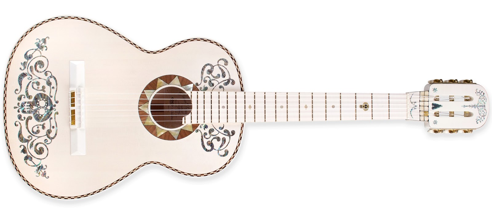 Our Hands-On Video Review Of Cordobau0026#39;s Coco-Themed Guitar | Pixar Post
