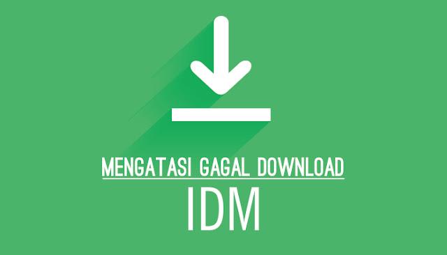 Sering Gagal Download di IDM? Begini Cara Mengatasinya