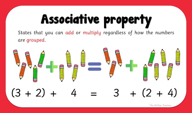Associative property in addition