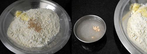 murukku dough preparation