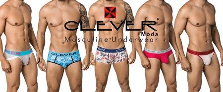 おしゃれなデザインの男性下着「CLEVER クレバー 」の新作が入荷しました。