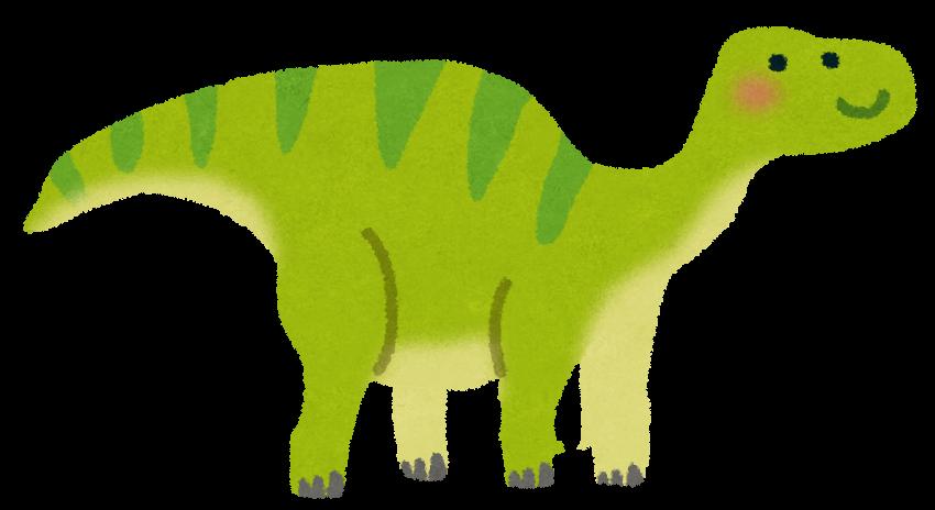 イグアノドンのイラスト恐竜 かわいいフリー素材集 いらすとや
