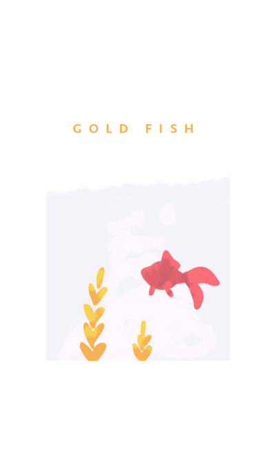 Red gold fish