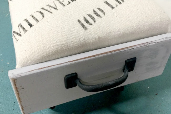How to Make an Ottoman from an Old Drawer
