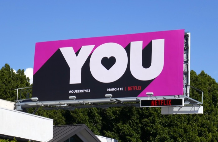 You Queer Eye season 3 billboard