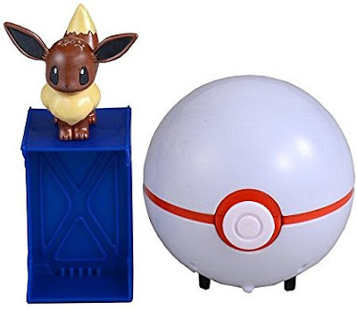 Eevee figure peal version in Takara Tomy Pokemon Getter