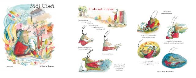 książka mój cień dla dzieci
