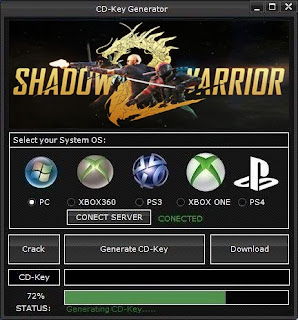 Shadow Warrior 2 CD Key Generator (Free CD Key)