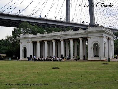 Princep Ghat in Kolkata, India