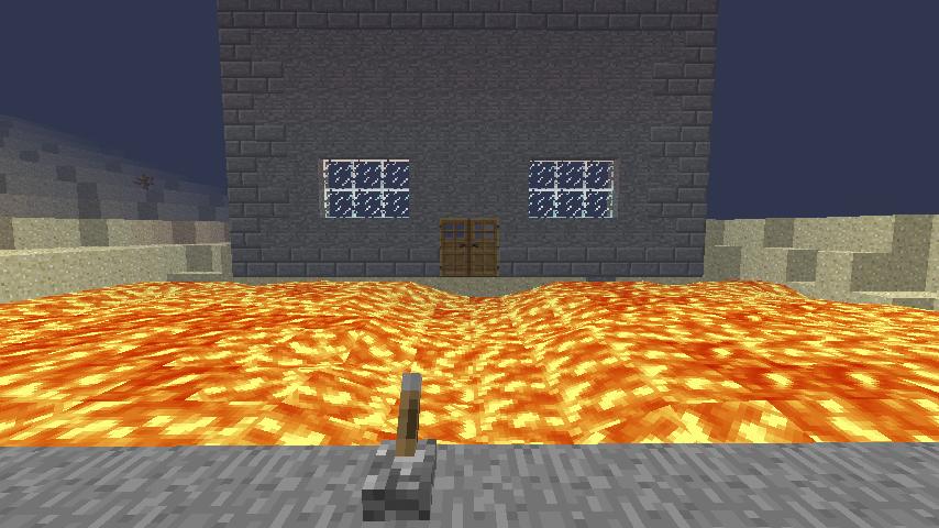 Minecraft Building Ideas Redstone Drawbridge