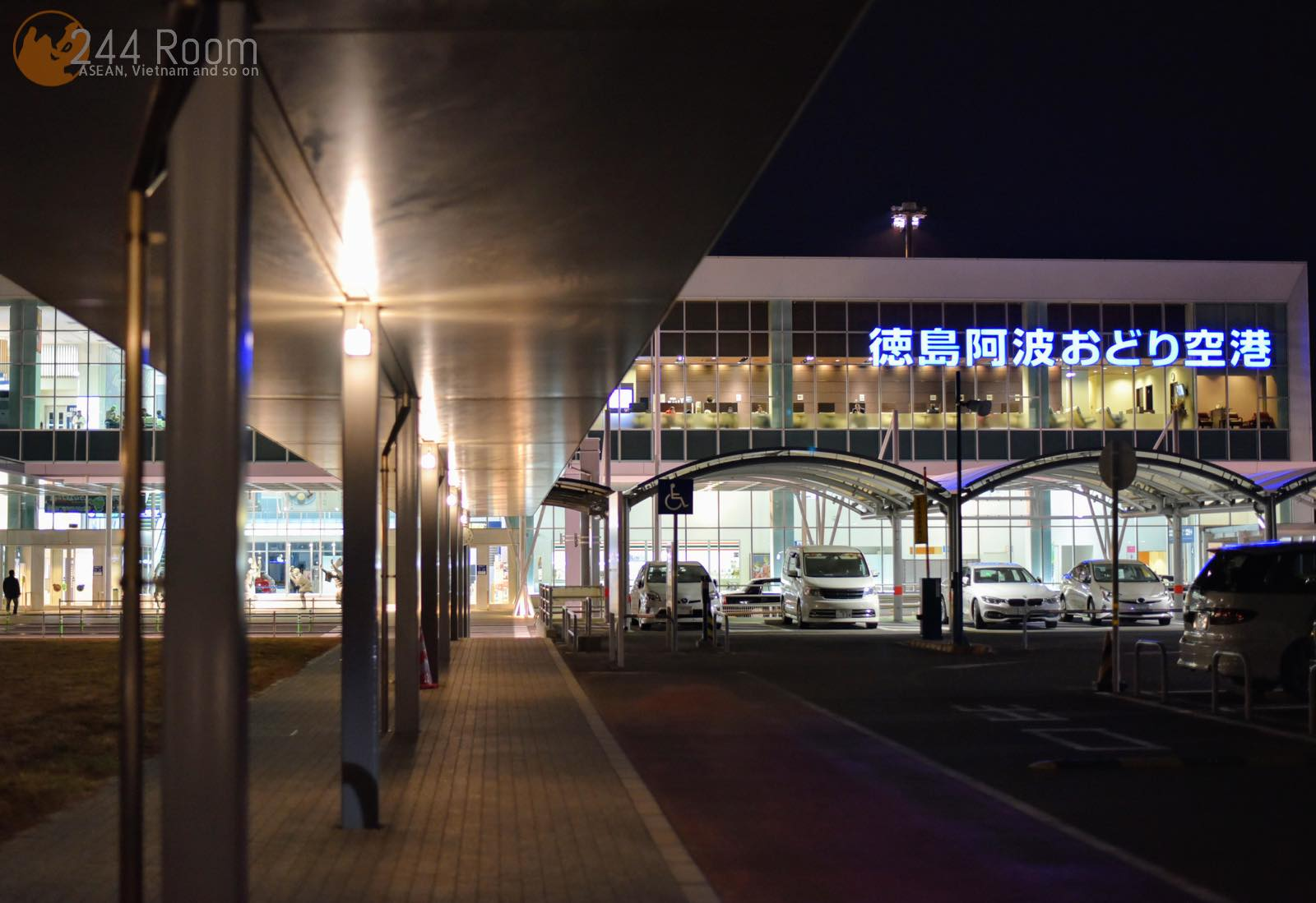 徳島阿波おどり空港 Tokushima-awaodori-airport-TKS