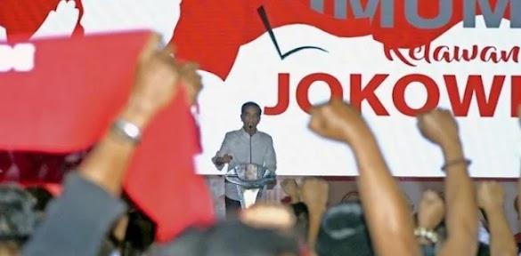 Minta Relawan Siap Berkelahi, Jokowi Langgar Sumpah Presiden