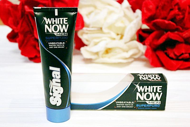 Мужская зубная паста с отбеливающим эффектом Signal White Now Men Super Pure  / отзывы