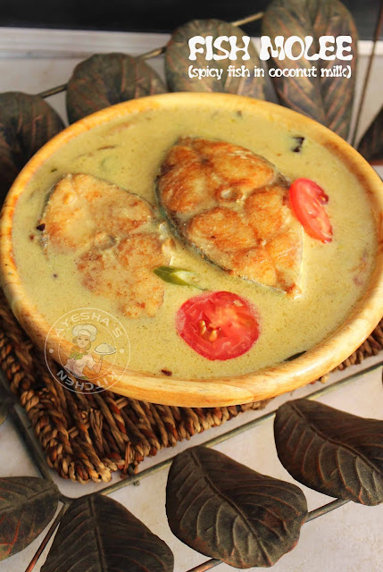 fish molee fish molly moilee meen curry kerala style fish curry malabar fish curry spicy fish curry coconut milk fish curry mappas stew ayeshas kitchen