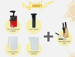 RELANCE Nutriplus Juicer : Blender Pembuat Jus