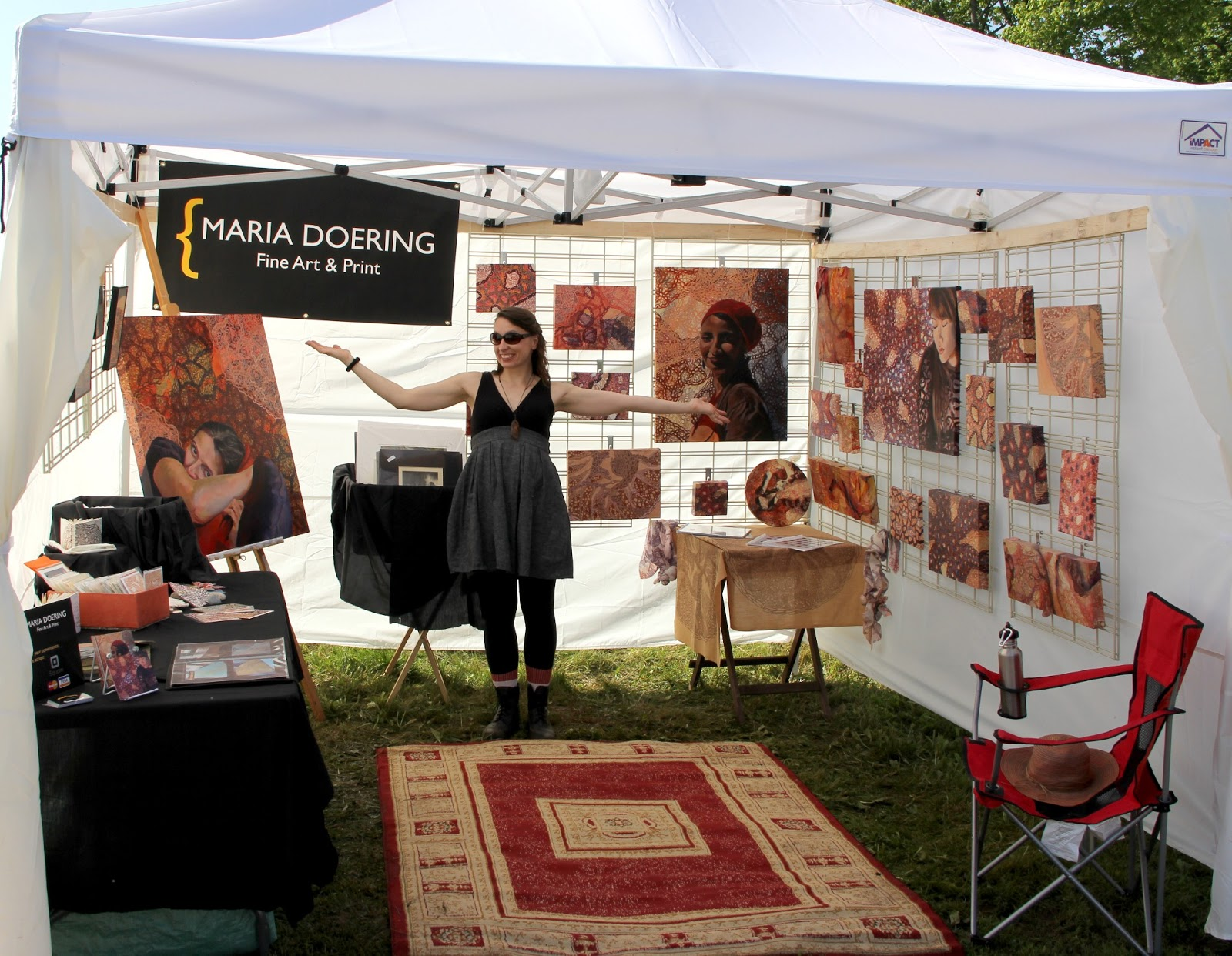 Maria Doering's Art & Adventures: Avondale Art Fair - June ...
