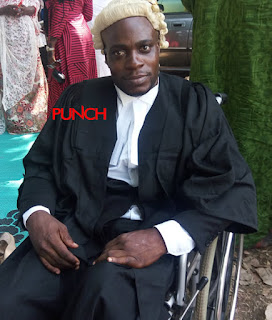 Ex-UNILAG beggar becomes lawyer, thanks PUNCH