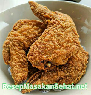 Cara membuat bumbu marinasi fried chicken