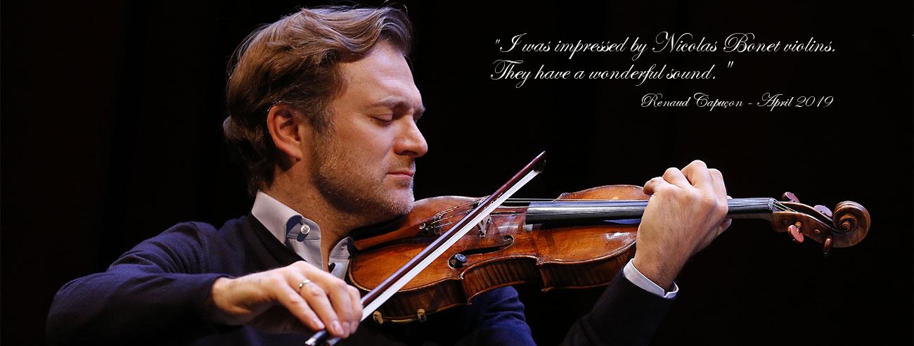 Nicolas Bonet Luthier Violon Alto Violoncelle