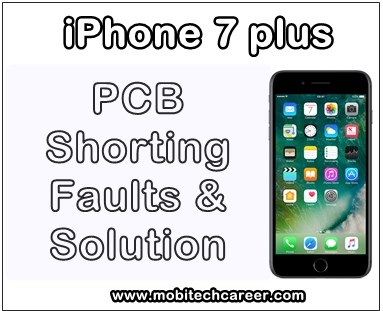 mobile, cell phone, iphone repair, android, smartphone, repairing, how to, check, repair, solve, fix, remove, Apple iPhone 7 pluss, pcb circuit board, motherboard, shorting, short, dead phone, using, with, digital, multimeter, pcb shorting, faults, problems, solution, step by step, kaise kare hindi me, tips, guide, video, digram pictures, pic, software, apps, jumper ways, pdf file, download in Hindi.