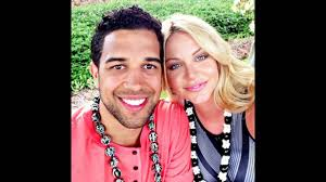 Landry Fields chilling out with his girlfriend Elaine Alden