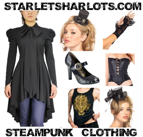18e5528b2eb Choose from a large selection of Victorian plus size Steampunk clothing and  shoes to complete your creation.