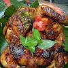 Resep Ayam Bakar Bumbu Rujak Ala Bunda Kristin. Dagingnya Empuk, Wangi dan Bumbunya Itu Bikin Nagih