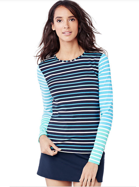 Swim T from Lands End for Paddle and Beach Sports and Workouts