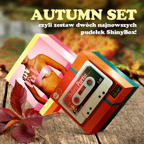Autumn Set ShinyBox zestaw pudełek THINK PINK oraz DOBRA PARTIA