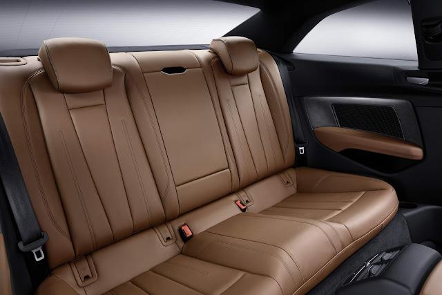 Novo Audi A5 2017 - interior