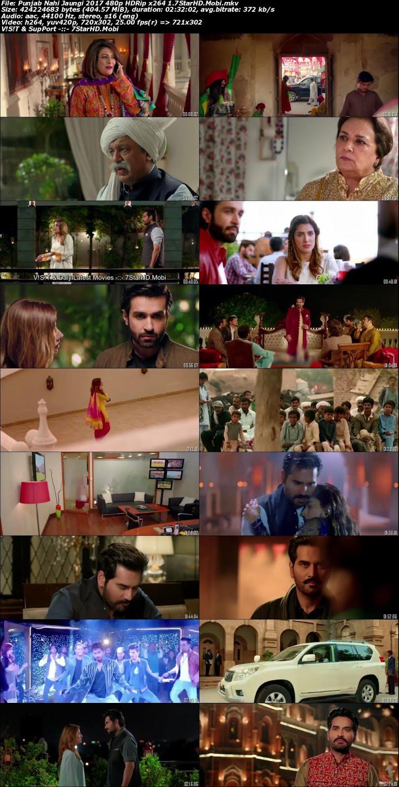 Punjab Nahi Jaungi (2017) Urdu 400MB HDRip 480p x264 2