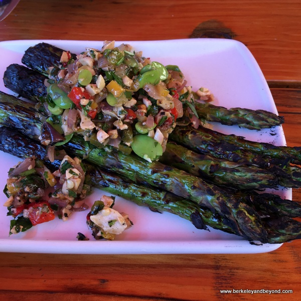 asparagus special at Playa in Mill Valley, California